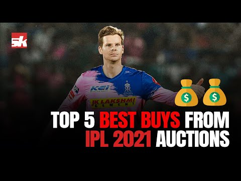 IPL2021: Top 5 Best & Valuable Buys From IPL 2021 Auctions   Steve Smith
