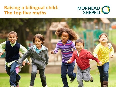 Raising a bilingual child: The top five myths