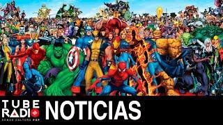 Tube Radio: Spiderman, Hulk, Iron Man, Daredevil, Deapool, Wolverine, Venom