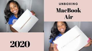 2020 New MacBook Air UNBOXING + ACCESSORIES