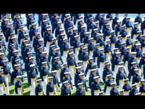 2014 U.S. Air Force Academy Graduation. Part 1 of 2