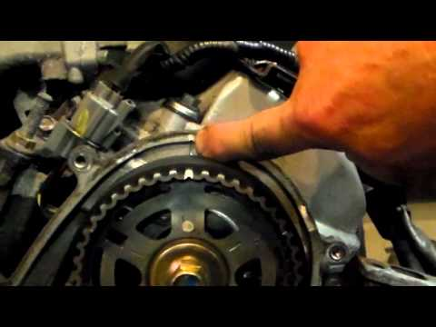 Acura 3.2 V-6 Timing Belt replacement