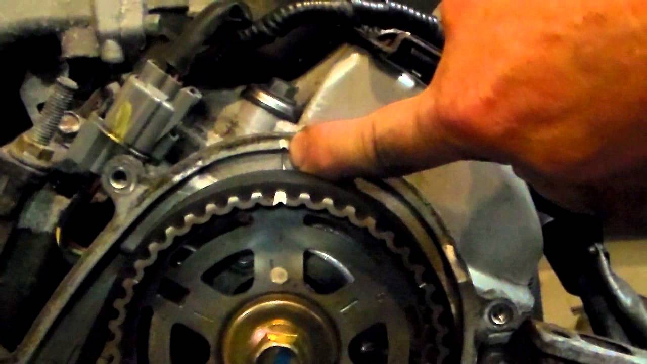 Acura 32 V6 Timing Belt replacement  YouTube