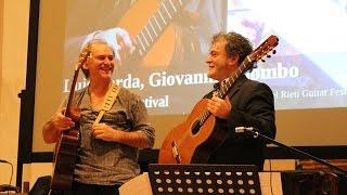 Dove avranno nascosto il mare - Giovanni Palombo e Luis Borda (Festival Rieti 2013)