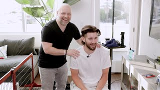 I Gave Jeff Wittek a Haircut - TheSalonGuy