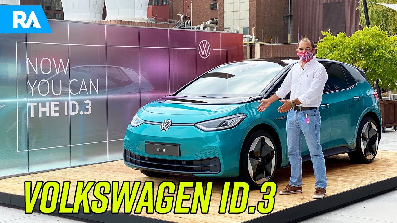 Volkswagen ID.3 1st (2020). Primeiro TESTE em português [EXCLUSIVO Youtube]