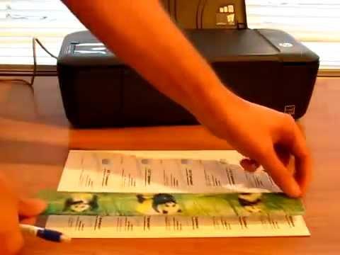 Печать визиток в домашних условиях