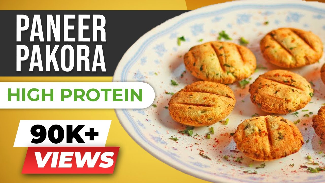 Low fat paneer pakora recipe healthy indian snacks beerbiceps low fat paneer pakora recipe healthy indian snacks beerbiceps healthy vegetarian youtube forumfinder Images