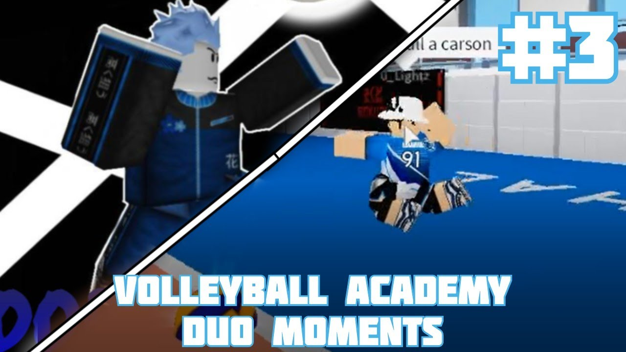 Roblox Volleyball Academy Duo Moments 2 Youtube