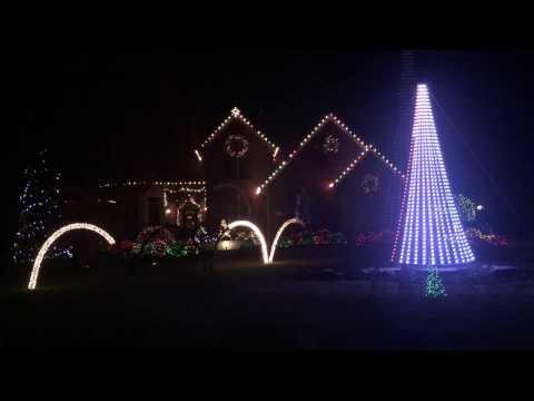 Loveland Ohio Christmas Lights Display