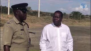 CS Matiangi makes an impromptu inspection of vehicles in Michuku Rules crackdown