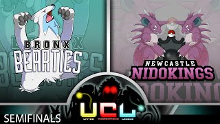 BBeartics vs NC Nidokings [UCL S1 SEMIFINALS] Pokemon Omega Ruby & Alpha Sapphire Live Wi-Fi Battle