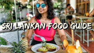 The Only Sri Lankan Food Guide You Need to Watch