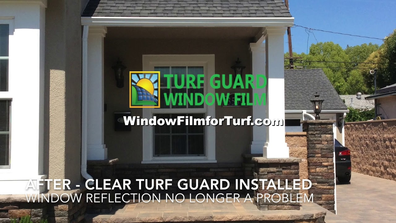 How To Stop Window Reflection Stop Vinyl Siding Melting