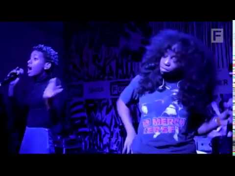 Willow Smith and SZA 9 Montage Image video  Live at The FADER FORT & Music Official