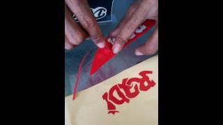 Cara cepat bikin stiker manual untuk pemula