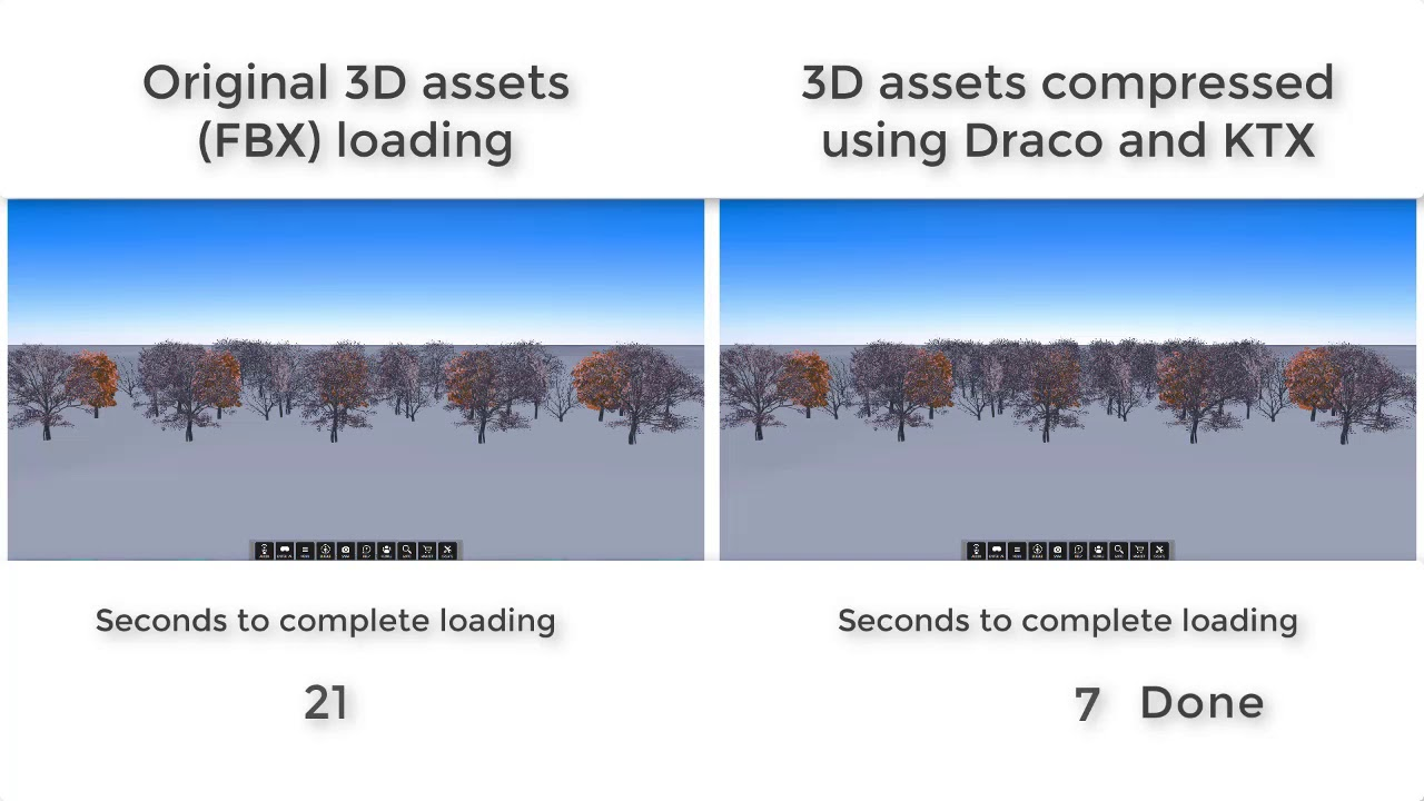 High Fidelity VR, Now with Draco and KTX Compression