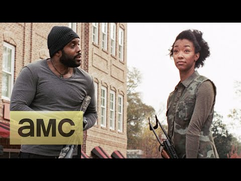 On Set With Sonequa MartinGreen: Having an OnScreen Brother: The Walking Dead