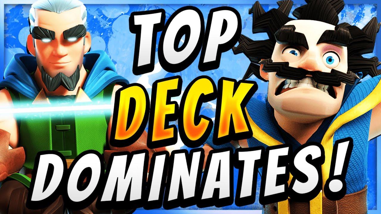 #1 DECK FOR NEW META! BEST MAGIC ARCHER DECK — Clash Royale