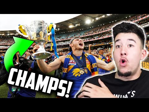American NFL Fan Reacts to 2018 THE AFL GRAND FINAL | West Coast v Collingwood Highlights
