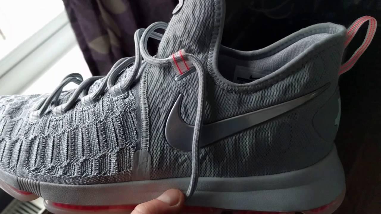 60efec517cf Nike KD 9 Pre Heat - YouTube