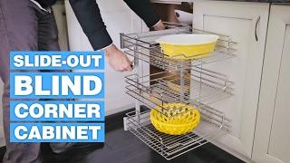 Slide-Out Blind Corner Cabinet