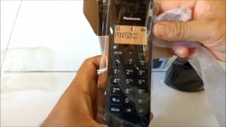 Unbox Telepon Wireless Panasonic KX-TGB110CX