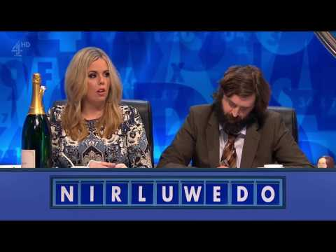 8 out of 10 Cats does Countdown S10E05 !With David Mitchell! HD 10th February 2017