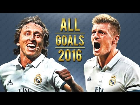 Luka Modric & Toni Kroos - All Goals for Real Madrid | 2016 | HD