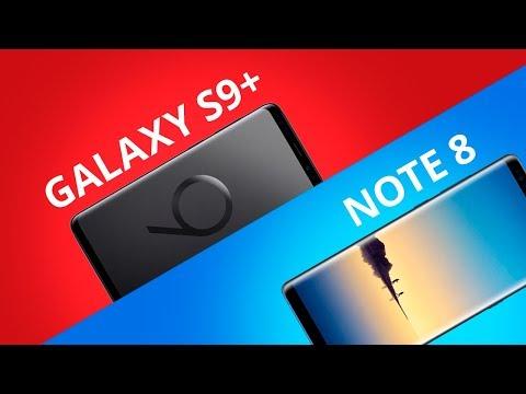 Samsung Galaxy S9+ vs Galaxy Note 8 [Comparativo]