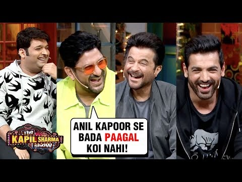 Arshad Warsi MAKES FUN Of Anil Kapoor With John, Urvashi, Kriti | The Kapil Sharma Show Pagalpanti Mp3