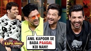 Arshad Warsi MAKES FUN Of Anil Kapoor With John, Urvashi, Kriti   The Kapil Sharma Show Pagalpanti