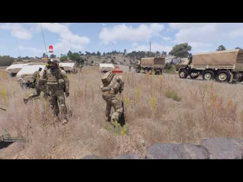 【Arma3】HELMET CAM LIVE!! #126 【Light Cavalry】
