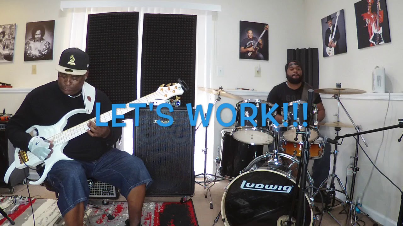 Robert Harper & TaylorMadeDrummer - Bass/Drum - Funk Groove Series (Part 3)
