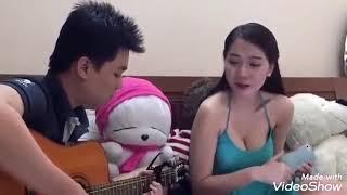 Hot girl ngực khủng cover với đàn guitar | VN CLIP HOT