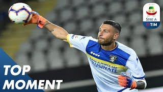 Sportiello Save | Frosinone 0-2 Juventus | Top Moment |  Serie A