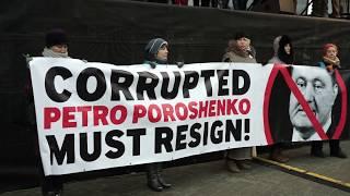 Десятки тысяч украинцев вышли на Марш за будущее