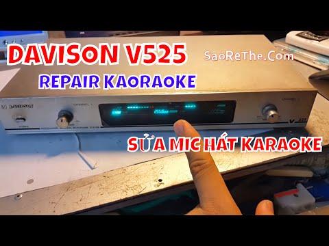 SỬA MIC HAT KARAOKE DAVISON - Repair Karaoke DAVISON