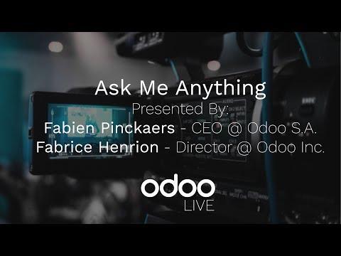 Ask Me Anything w/ Odoo CEO Fabien Pinckaers