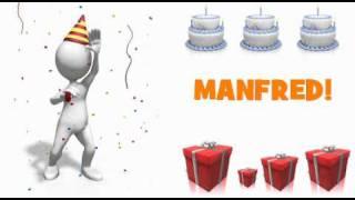 HAPPY BIRTHDAY MANFRED!
