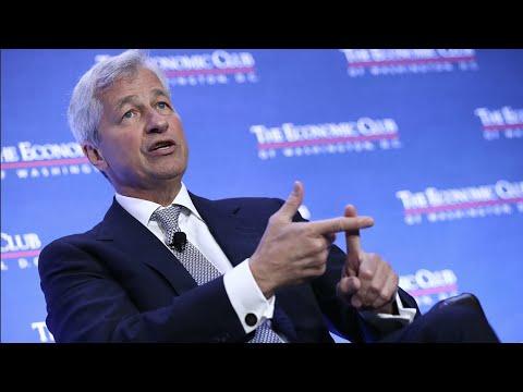 JPMorgan CEO Jamie Dimon: It's Time to Raise Rates