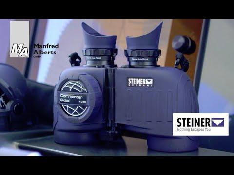 Dealswagen 10x50 Marine Fernglas Mit Entfernungsmesser Und Kompass Bak 4 : Segel und wassersport mit steiner optik youtube