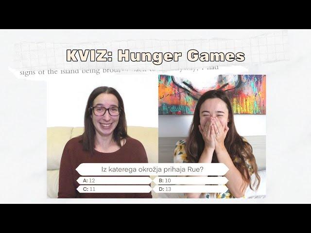 KVIZ: trilogija Igre lakote - nenadna smrt (knjižni blogerki)