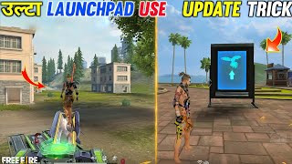 TRAINING GROUND LAUNCHPAD ENTER TRICK \u0026 TIPS || TOP NEW AMAZING TIPS AND TRICKS|| TRICKS FREE FIRE
