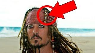 10 Errori nel film PIRATI DEI CARAIBI!!