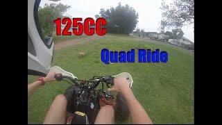 125cc Chinese Quad | ride!!