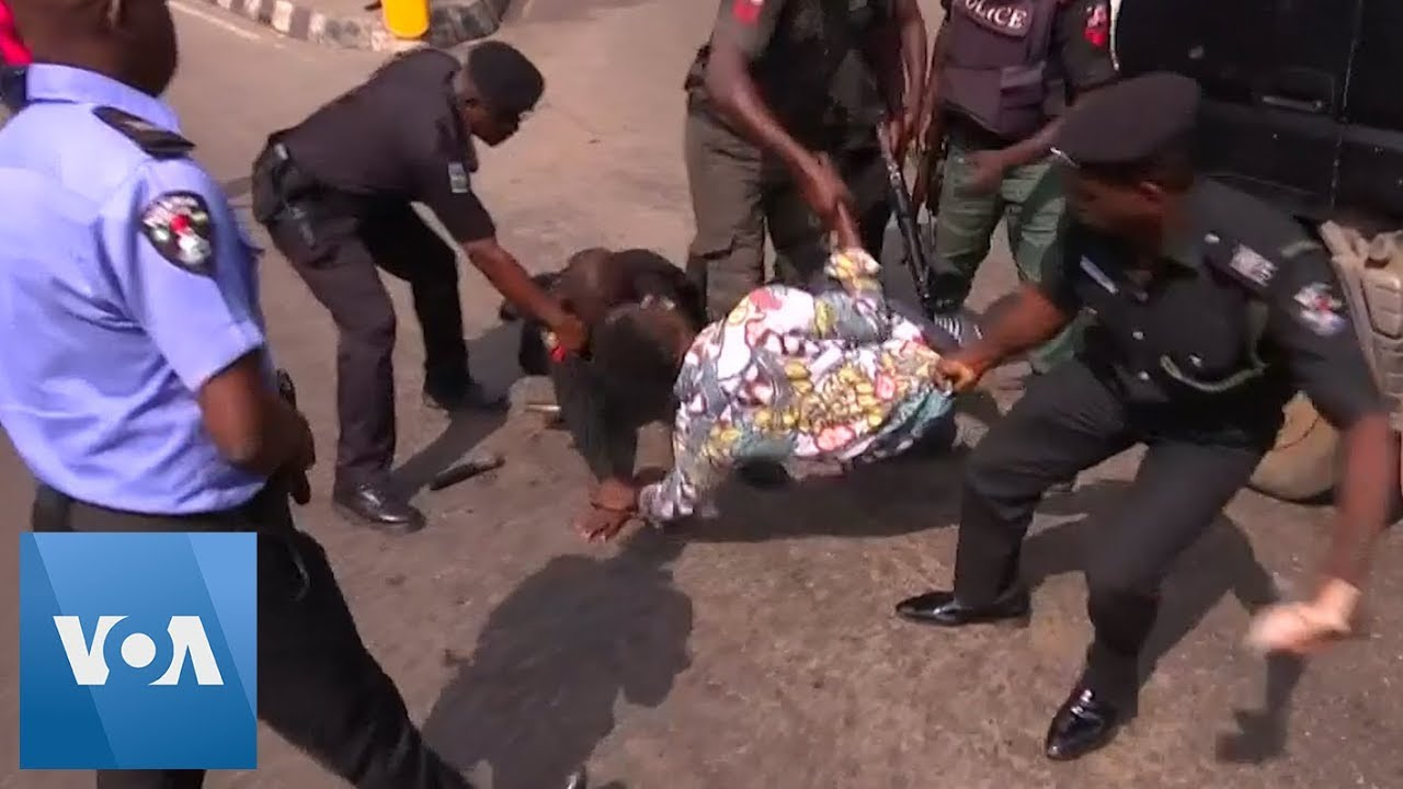 Police Crack Down on Protestors in Nigeria