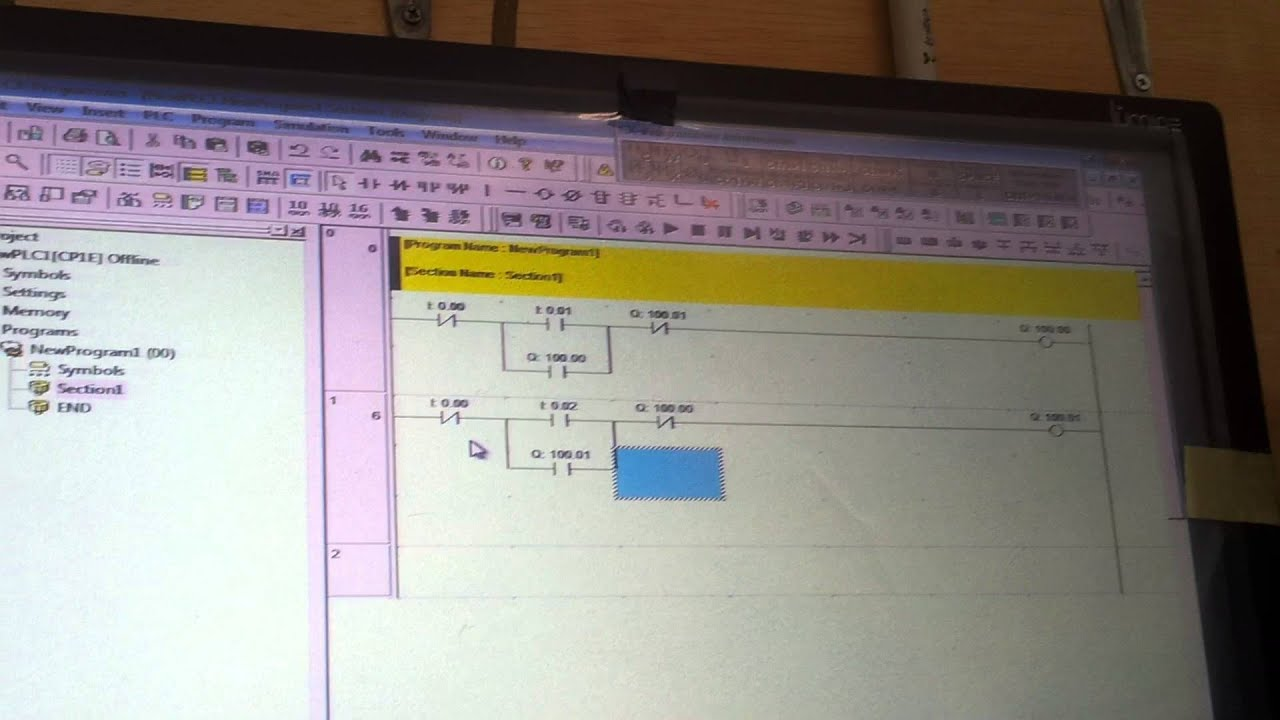 Membuat Program Plc Omron Cp1e Forward Reverse