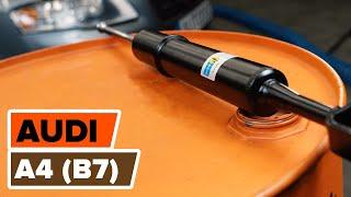 Kaip pakeisti priekinės pakabos amortizatoriaus statramstį AUDI A4 (B7) [AUTODOC PAMOKA]