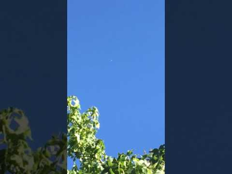 iPhone video: Xiamen Airlines Boeing 787-9 Dreamliner cruising over my house